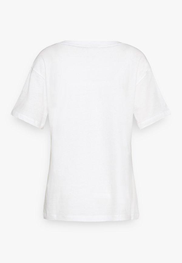 JDY JDYGRACE LIFE - T-shirt z nadrukiem - cloud dancer Nadruk Odzież Damska GZQM PU 1