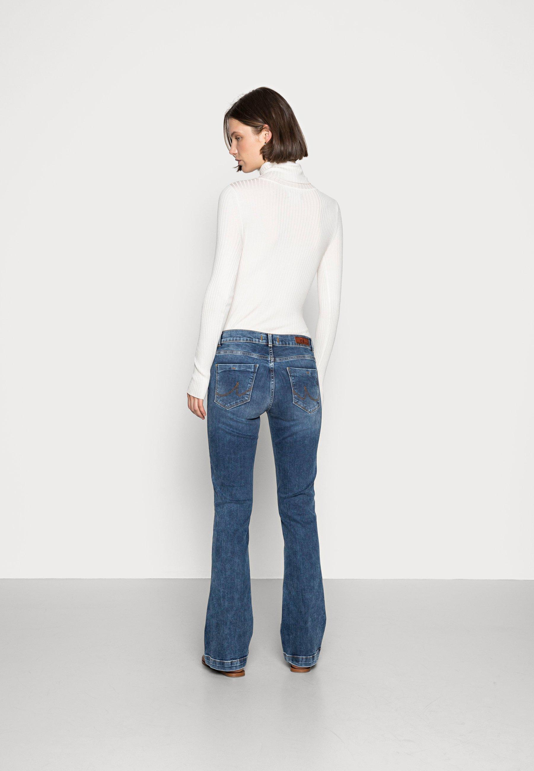 Donna FALLON - Jeans a zampa