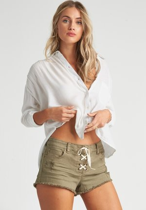 SWEET MOVES  - Button-down blouse - salt crystal