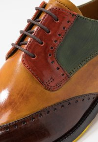 Melvin & Hamilton - JEFF 14 - Lace-ups - wood/yellow/dark winter orange/ultra green/turquoise/rich tan/pop yellow - 5