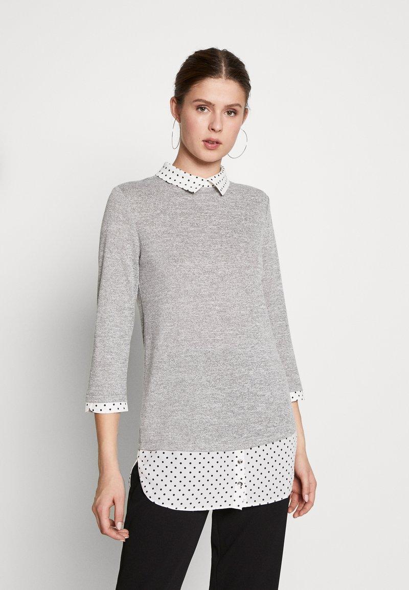 Dorothy Perkins Tall - SPOT HEM 2 - Pullover - light grey