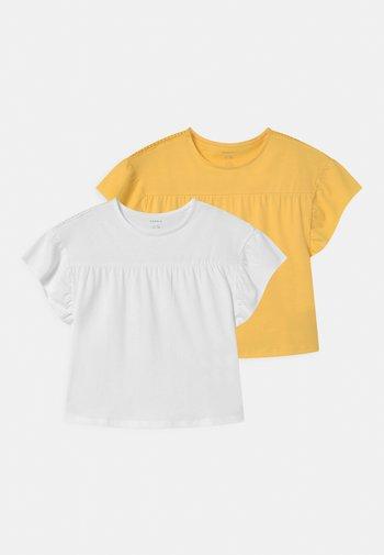 NKFDAGIL 2 PACK - Print T-shirt - bright white