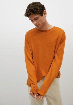 Sweter - naranja tostado