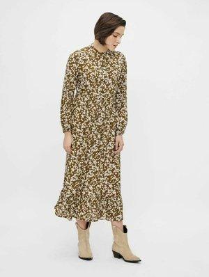 YASLINE - Shirt dress - butternut