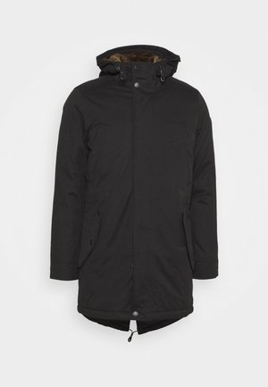 LANGARM - Parka - grey/black