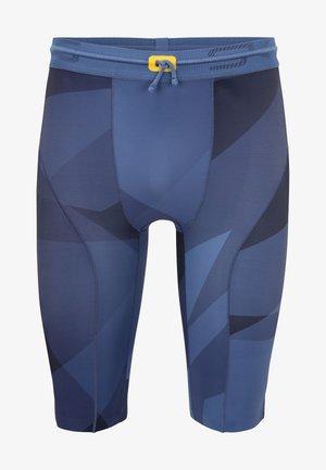 SERIES-5 - Leggings - blue geo