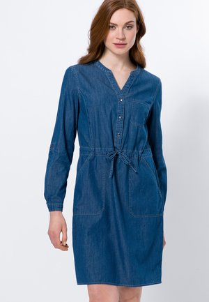 Denim dress - mid blue clean wash