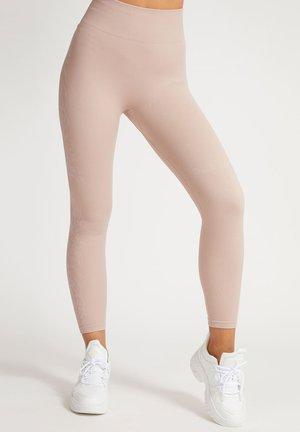 NAHTLOSE TIERFELL-PRINT - Leggings - rose