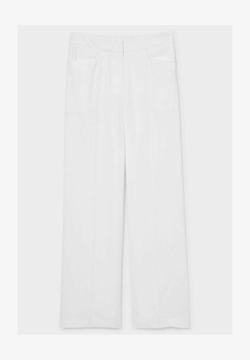 C&A Premium - Trousers - white