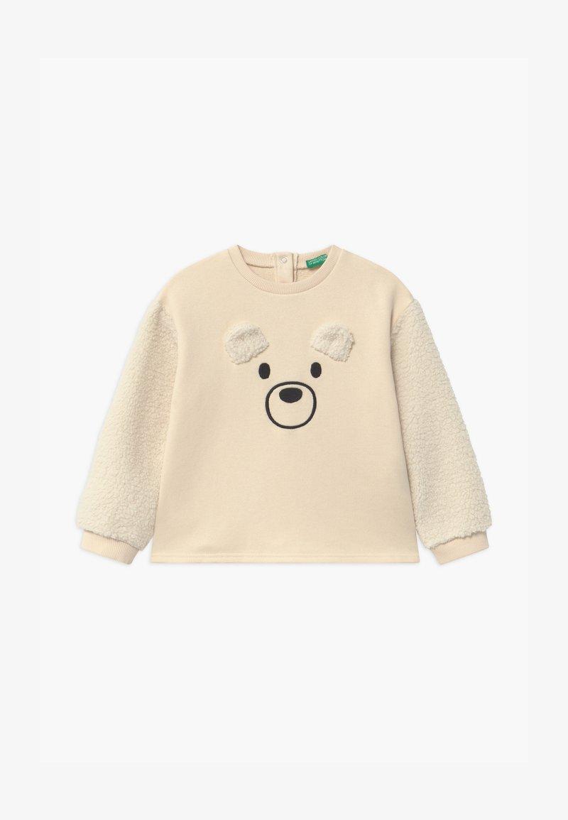 Benetton - FOREST FRIENDS  UNISEX - Sweatshirt - off-white