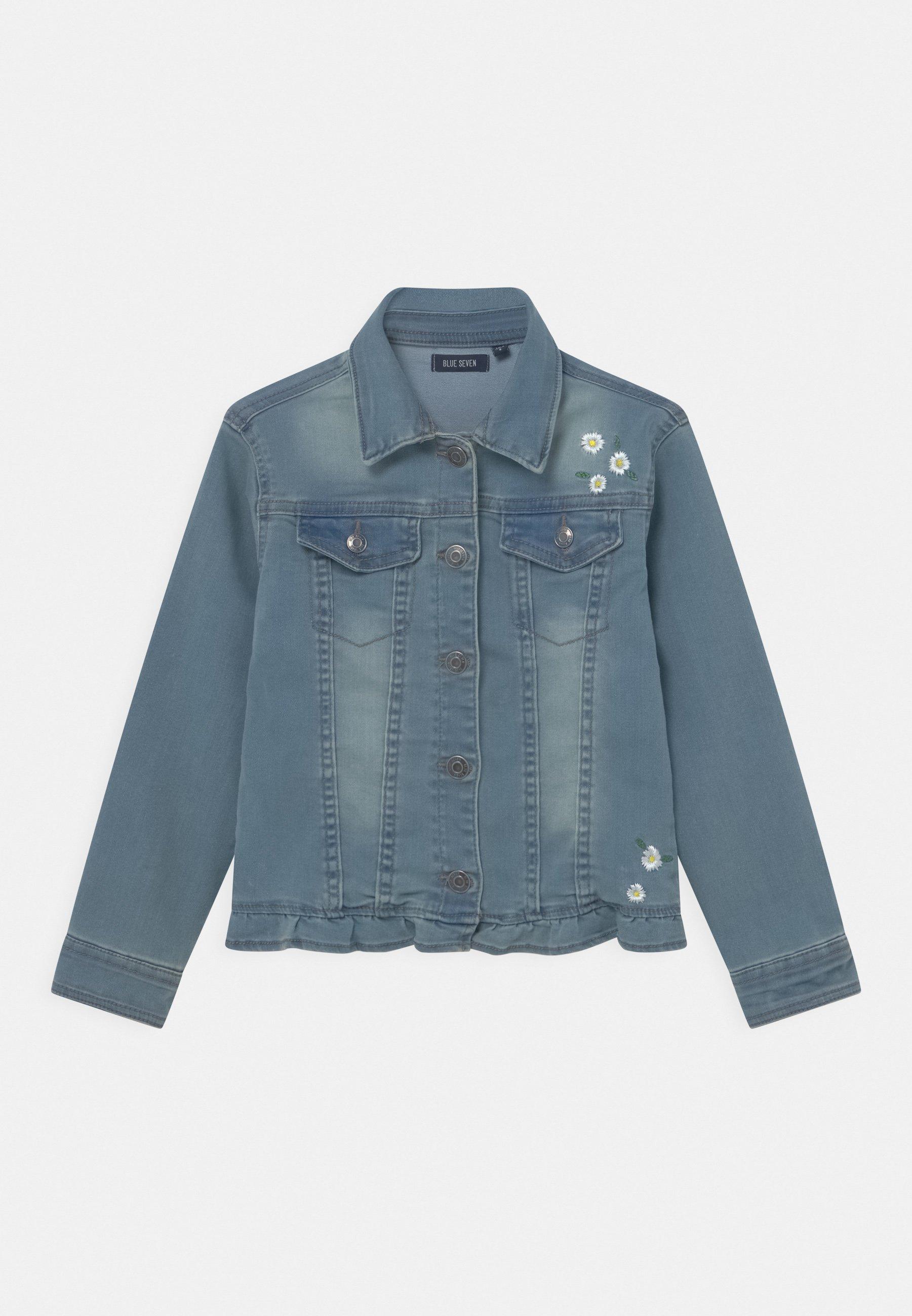 Kids SMALL GIRLS DAISY - Denim jacket