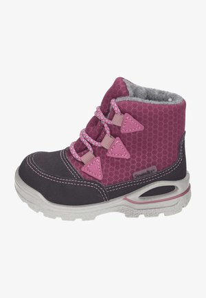 Winter boots - fuchsia/brombeer/pop