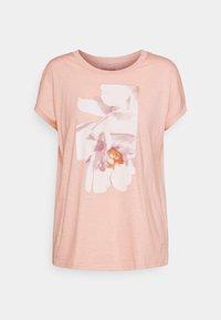 Esprit - TEE - Print T-shirt - nude - 0