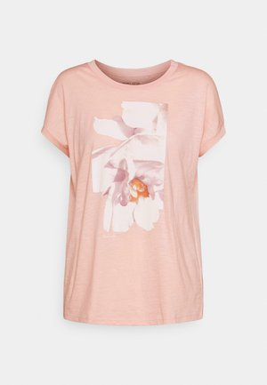 TEE - T-shirts med print - nude