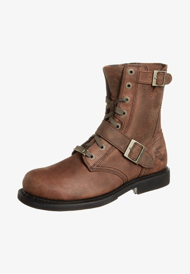 RANGER - Lace-up ankle boots - brown