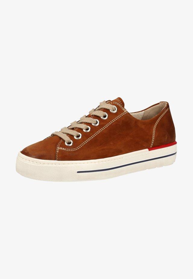 Sneakers basse - mittelbraun 357