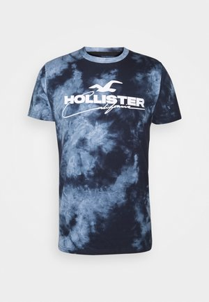 GRAPHIC - Print T-shirt - blue