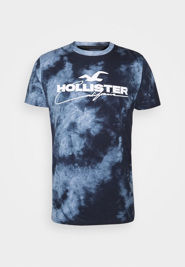 GRAPHIC - T-shirt med print - blue