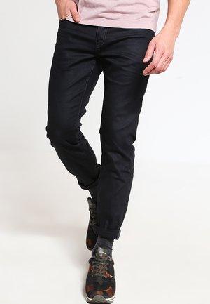 JJICLARK REGULAR FIT - Straight leg jeans - black denim