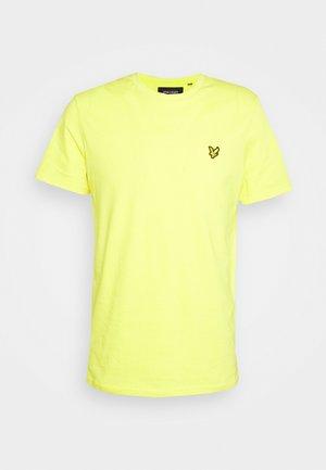 PLAIN - T-shirt - bas - buttercup yellow