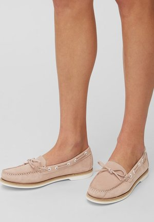 Boat shoes - nude