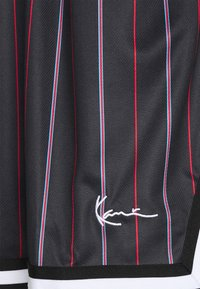 Karl Kani - SMALL SIGNATURE PINSTRIPE  - Shorts - black - 5