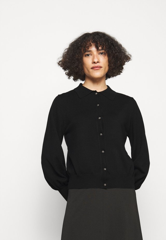 ANEMONE PRATO CARDIGAN - Cardigan - black