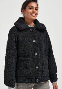 Next - Fleece jacket - black - 0