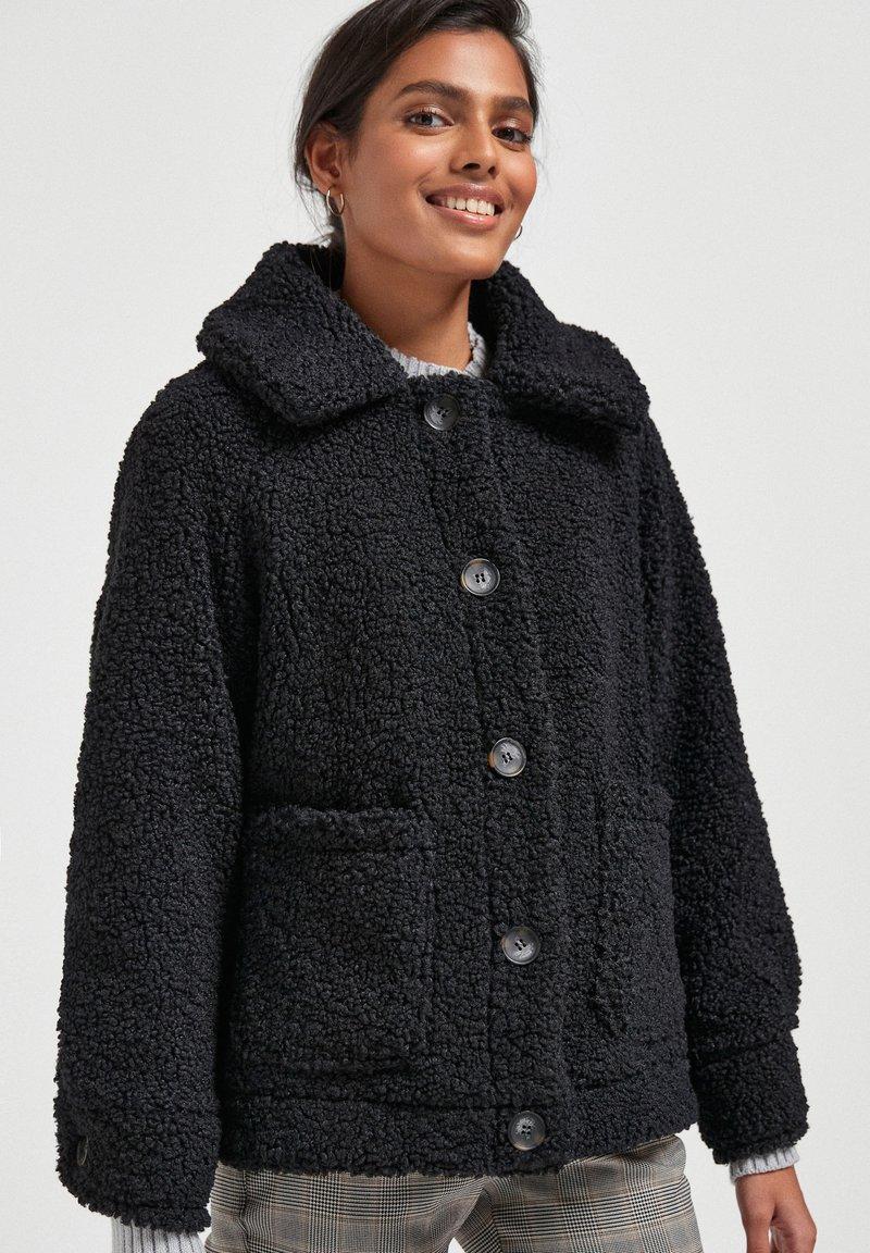 Next - Fleece jacket - black