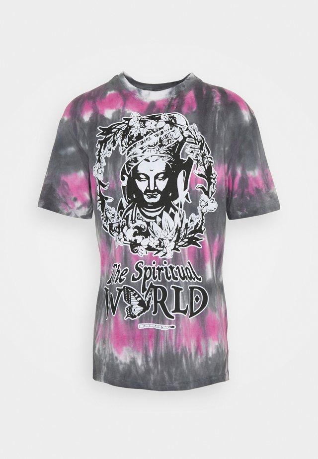 SPIRITUAL MULTI UNISEX - T-shirts med print - multi black