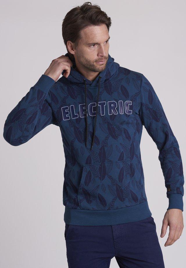FLORAL ELECTRIC - Bluza z kapturem - deep dive