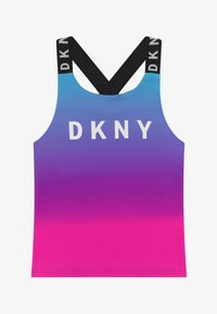 DKNY - TANK  - Top - pink/blue - 2