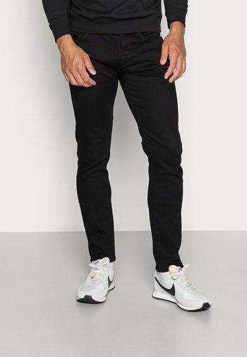3301 SLIM FIT - Slim fit jeans - elto nero black superstretch/pitch black