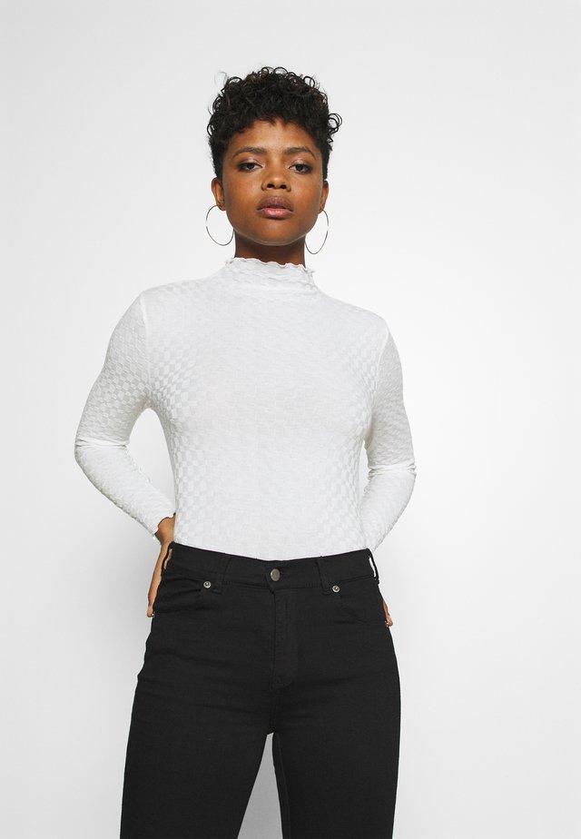BYSANKA - Bluzka z długim rękawem - off white
