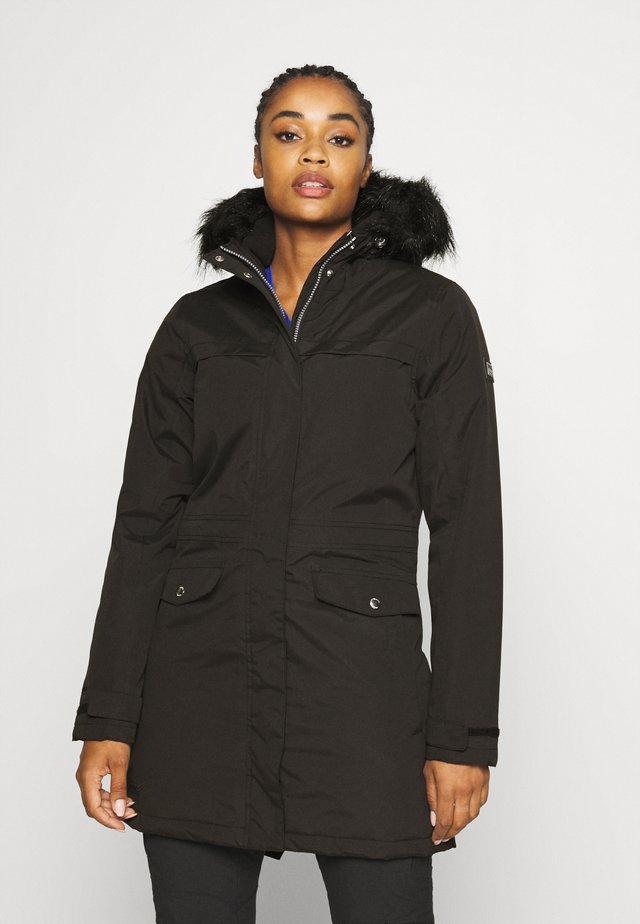 SERLEENA - Winter coat - black