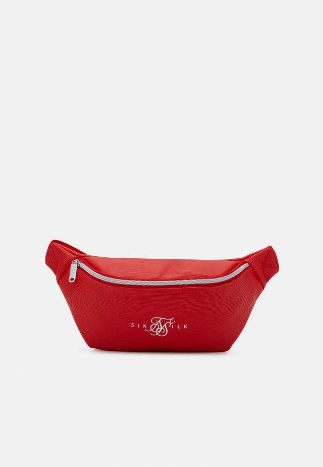 BUM BAG - Ledvinka - red