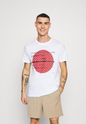 JCOGRID - T-Shirt print - white