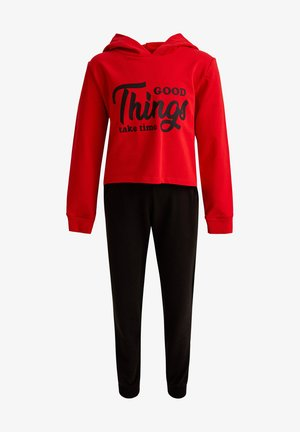 SET - Pyjama set - red