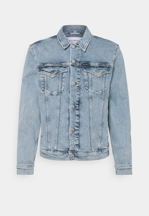 FOUNDATION JACKET - Džínová bunda - denim light