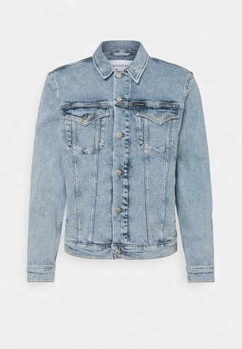 FOUNDATION JACKET - Giacca di jeans - denim light