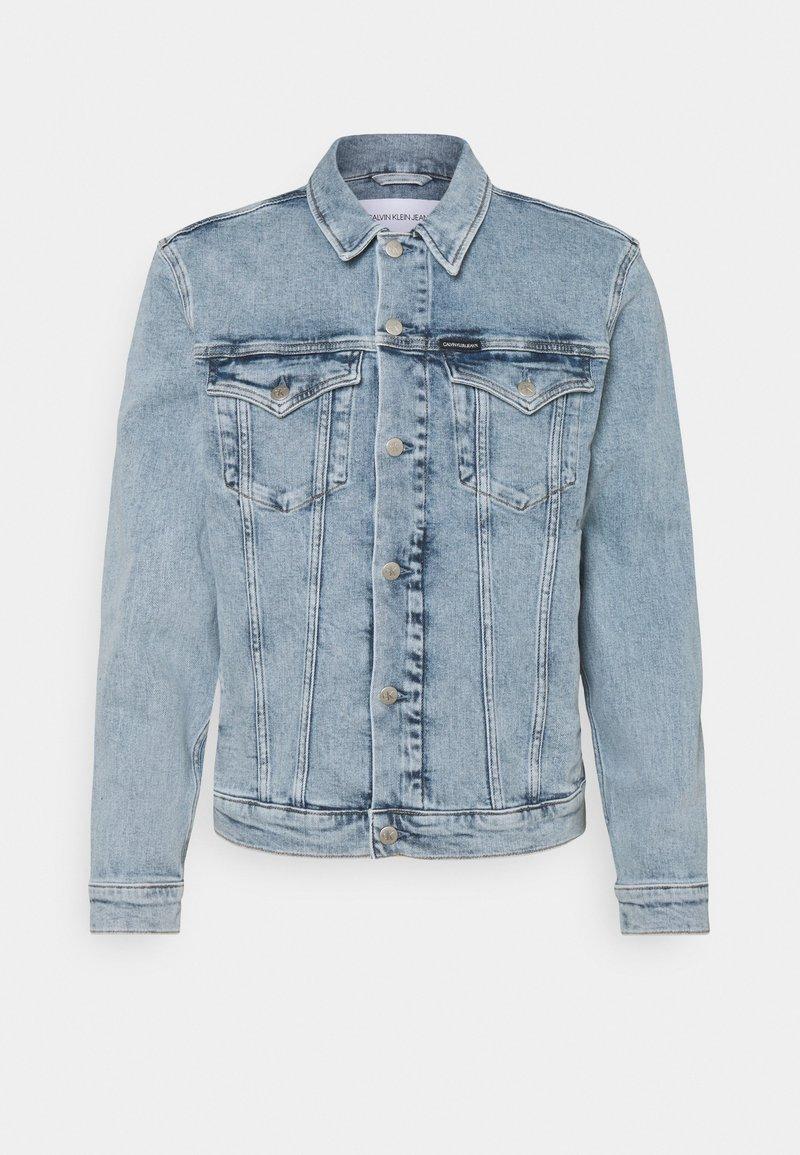 Calvin Klein Jeans - FOUNDATION JACKET - Spijkerjas - denim light