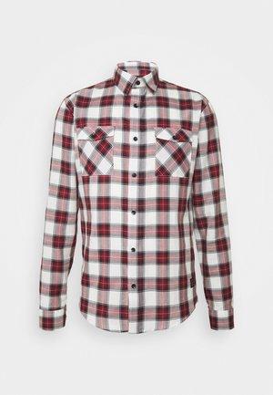 CHECK - Košile - dark red