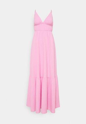 CARMEN DRESS - Maxikjole - lilac