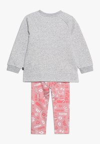 Puma - MINICATS GIRLS SET - Tracksuit - light gray heather - 1