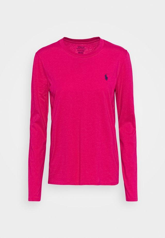 Top sdlouhým rukávem - sport pink
