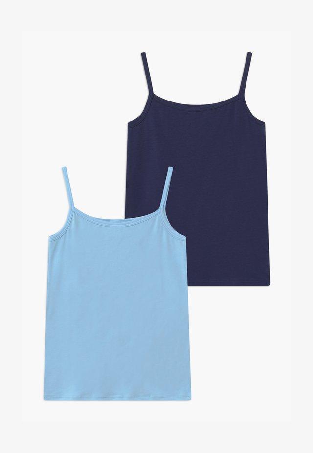 TEENS 2 PACK  - Unterhemd/-shirt - blue