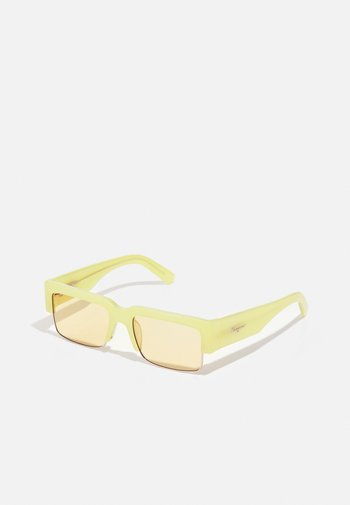 UNISEX - Sunglasses - lime yellow/gold-coloured