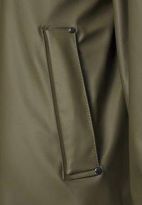 Ilse Jacobsen - TRUE RAINCOAT - Waterproof jacket - army - 2