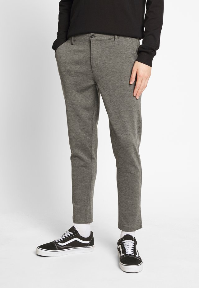 PANTS DAVE BARRO - Bukse - dark grey
