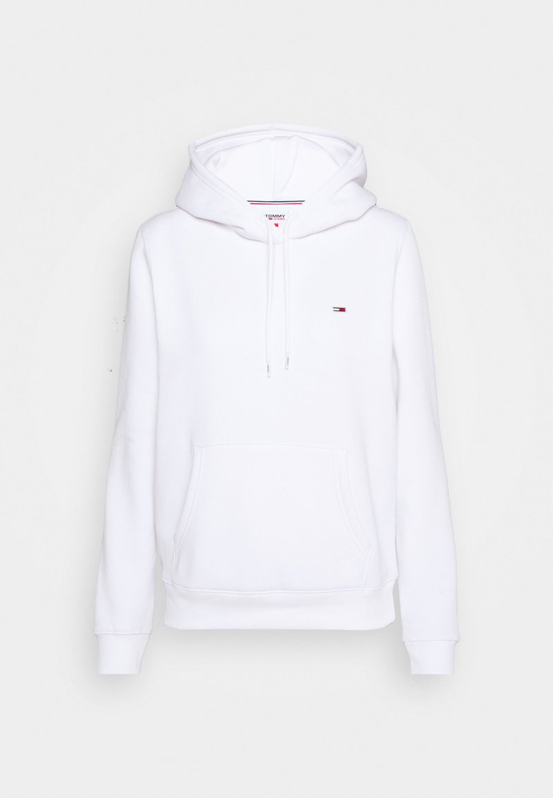 Tommy Jeans - REGULAR HOODIE - Sweat à capuche - white